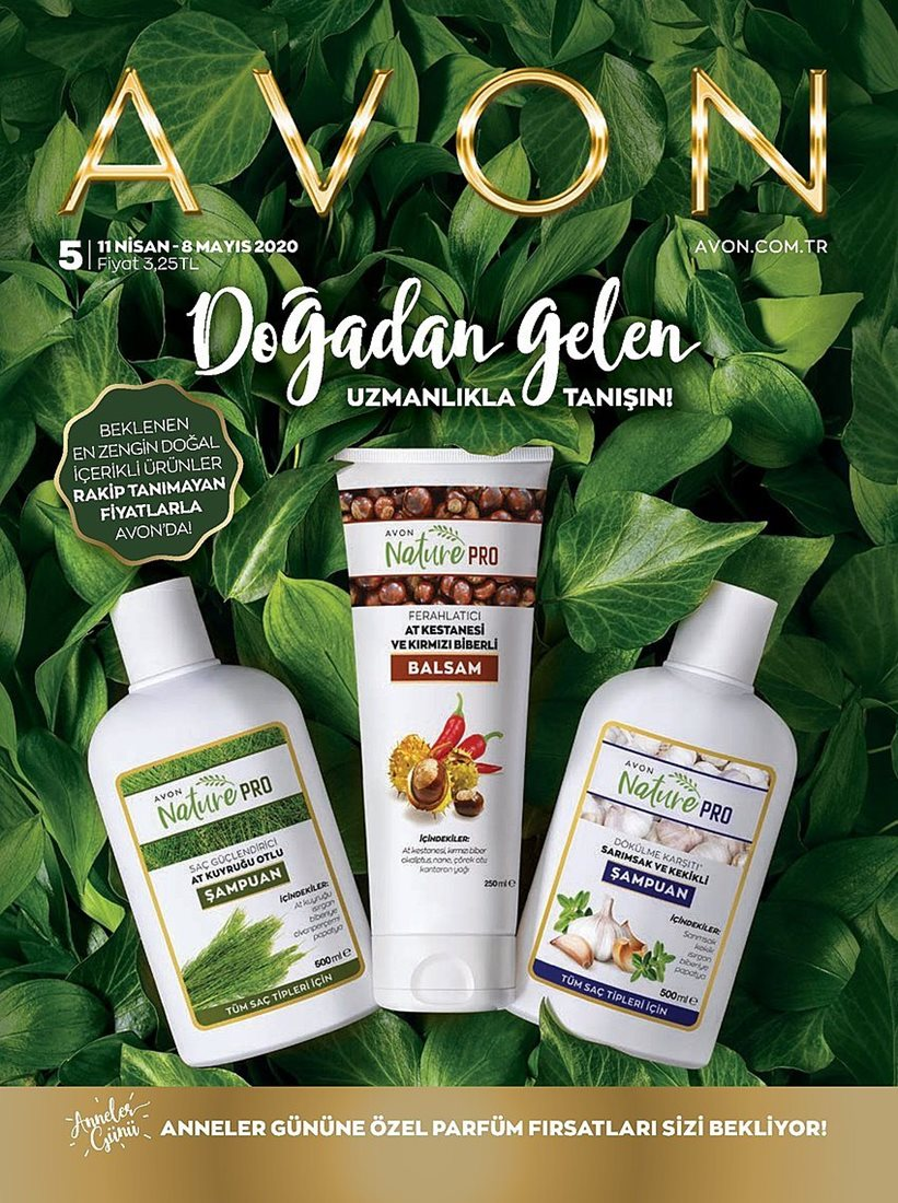 Avon Katalog Mayıs 2020