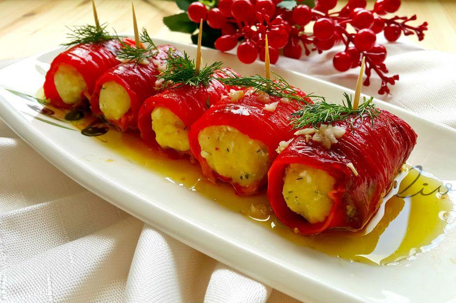 Kırmızı biber sarması tarifi